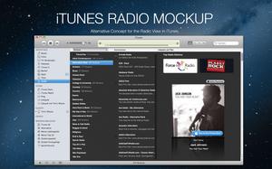 iTunes Radio View Mockup by B4lth4s4R