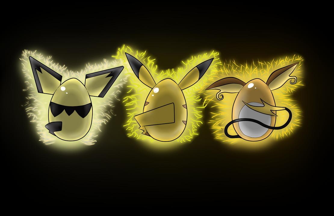 Pikachu Evo Eggs Wallpaper By Darthsuki On Deviantart