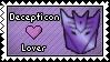 Decepticon Lover Stamp by DarthSuki