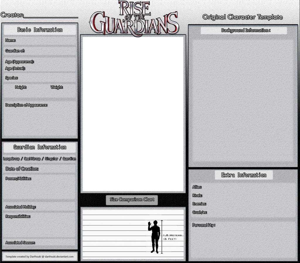 Character information sheet - Original Rotg Character Template By Darthsuki Original Rotg Character Template By Darthsuki