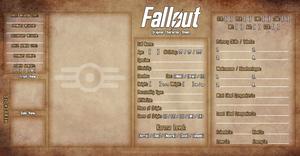 Fallout OC Meme 2.0 (Grunge Paper Ver.)