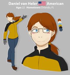Yuuri on Ice: Daniel van Heler