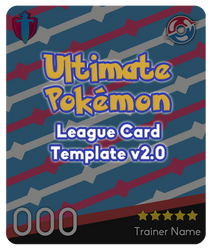 PKMN League Card Template (v2.0) UPDATED