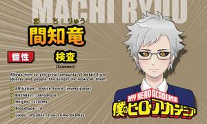 Machi Ryuu Eyecatch Card