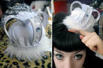 White Ice Queen Lolita Crown