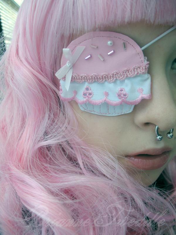 Sweet Lolita Cupcake Eyepatch by Neumorin