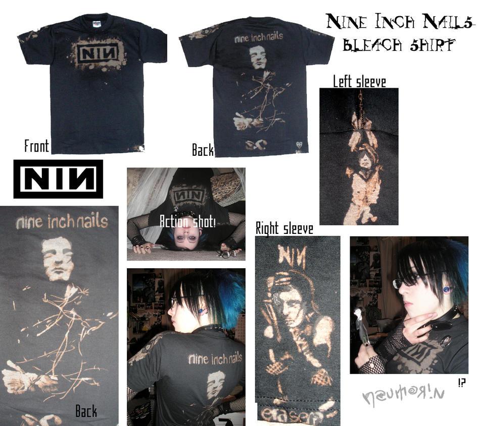 Nine Inch Nails Shirt. by Neumorin on DeviantArt