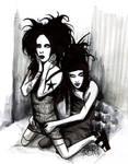 Manson and Twiggy