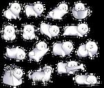 Pomeranian Premades/Chat Set