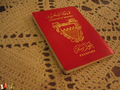 BAHRAINI PASSPORT by iAiisha