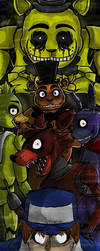 Five nights at Freddy's Cover by SilverBaze