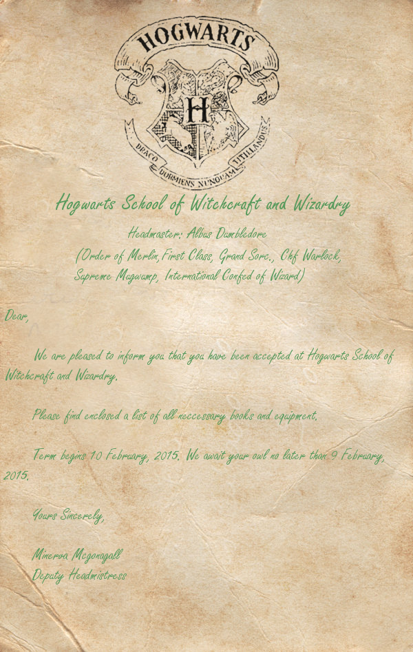 Hogwarts Acceptance Letter TEMPLATE by Hogwarts-Bound on DeviantArt