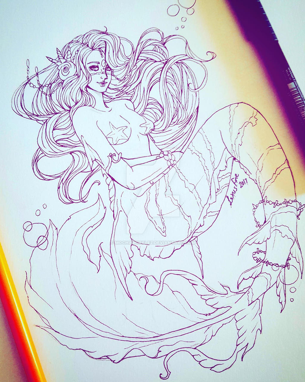 Mermaid Maiden by MochaWufflez