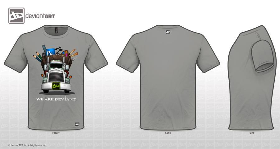 deviant art tshirt design by mohammedAgbadi