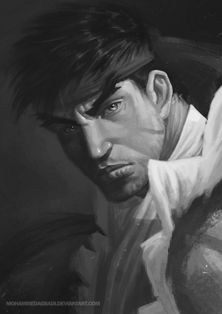 Ryu Portrait by mohammedAgbadi