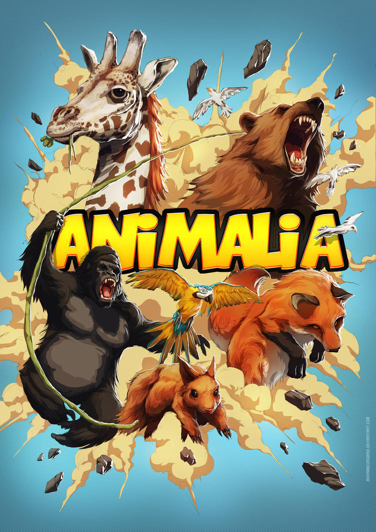 Animalia poster a4 by