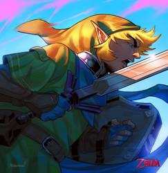 Zelda Fanart by mohammedAgbadi