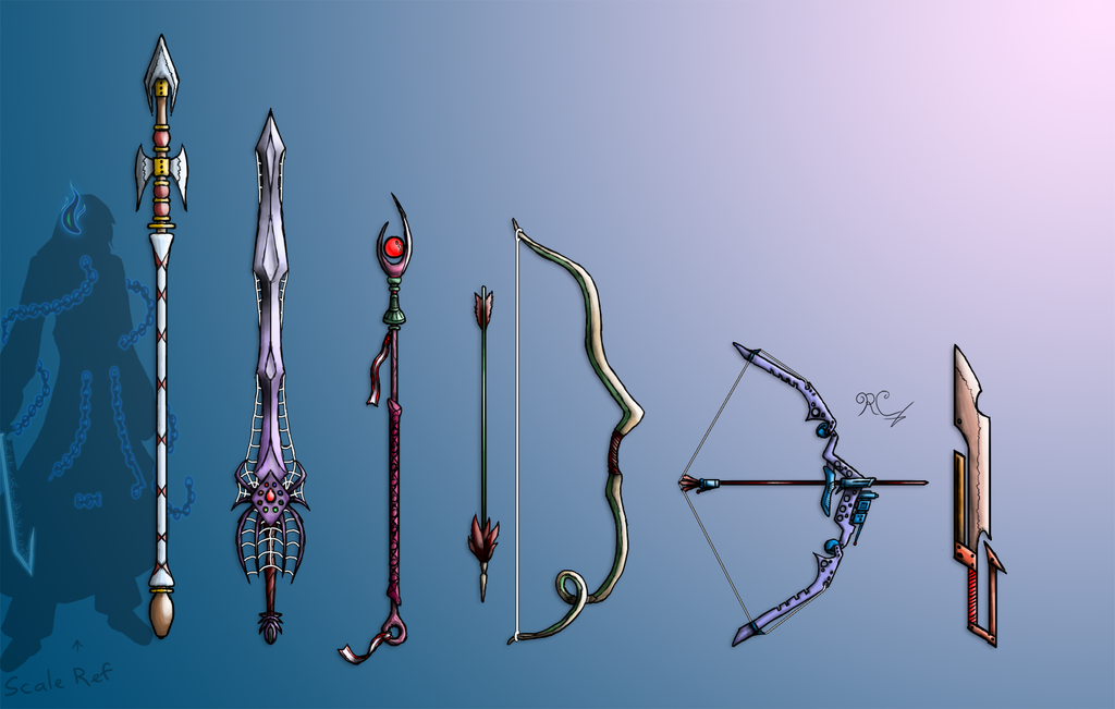 Fantasy Weapons by Inatervo