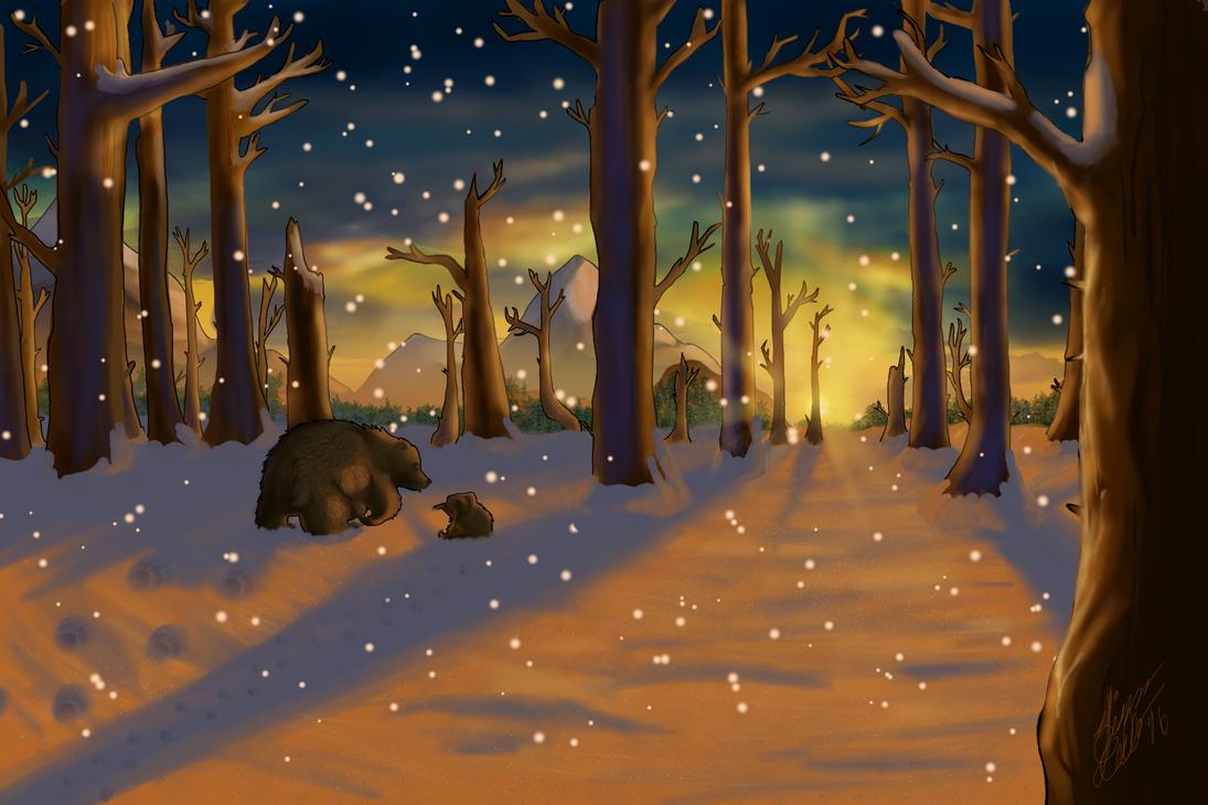 Two Bears by Krystal447