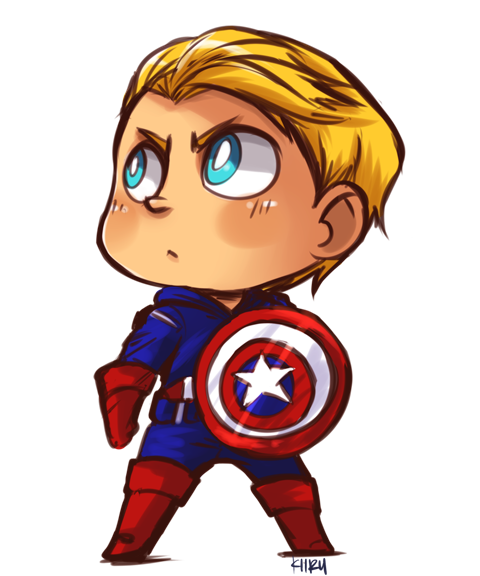 Super 4 Cartoon Characters : Captain america by kiirusama on deviantart