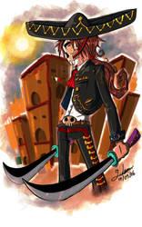 Swordsman Charro by YeraldReloaded