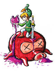 I got another heart (zelda minish cap)