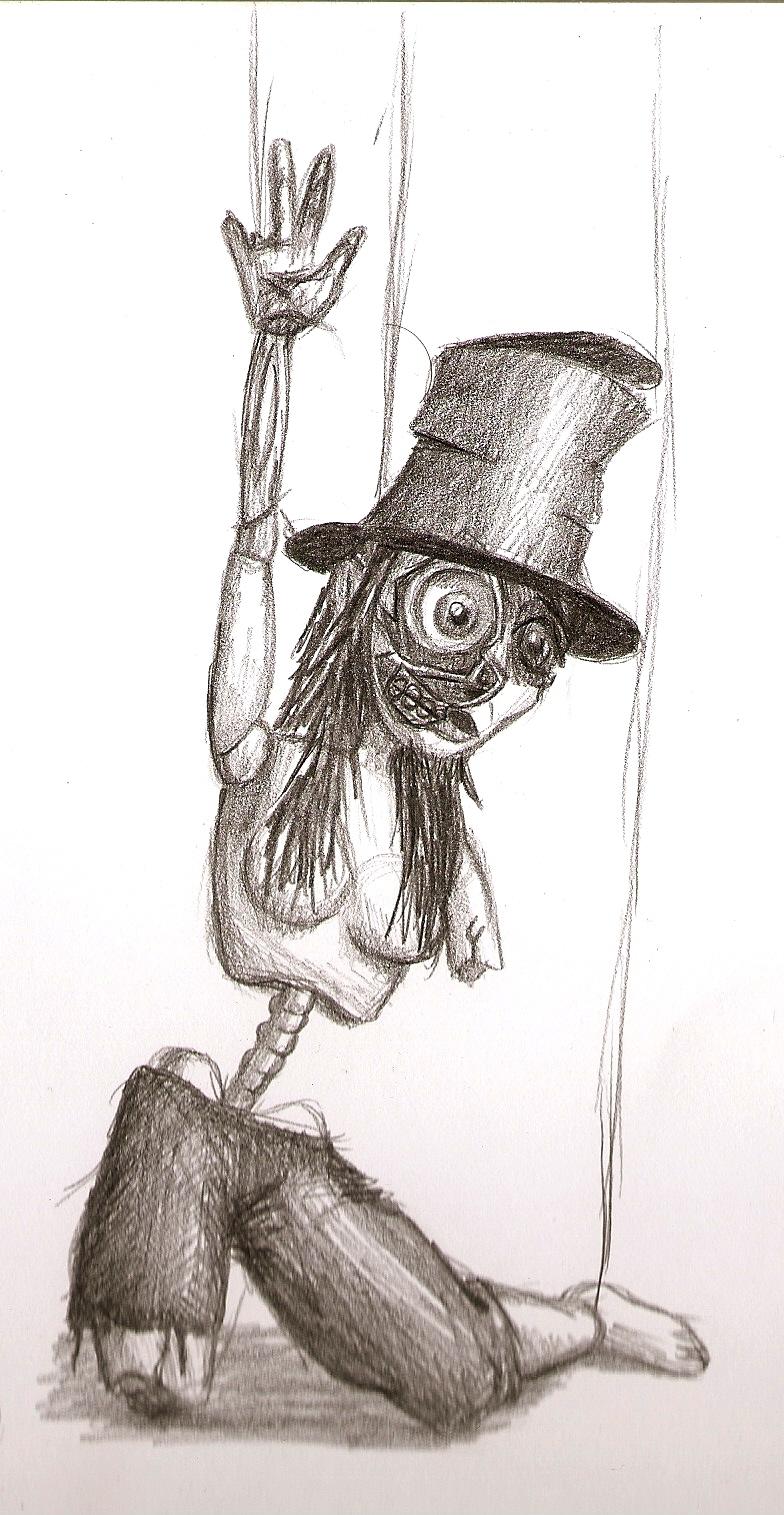 Creepy doll - Thanatosis by Toxs1n on DeviantArt