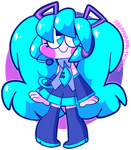 i would die for hatsune miku