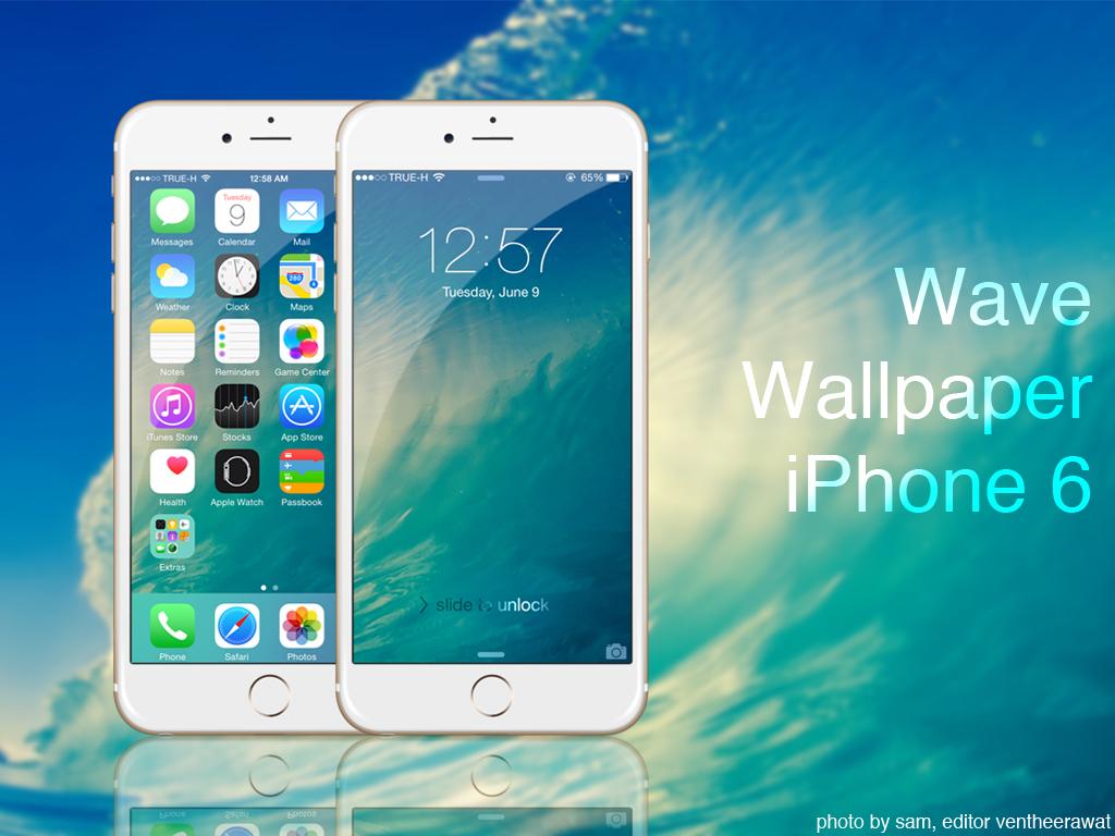 Wave Wallpaper IPhone 6 By Ventheerawat
