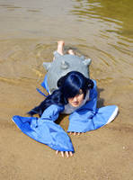Lapras on Beach by Thym15