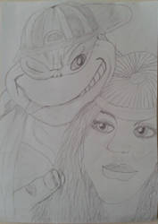 TMNT: Mikey and The Babe