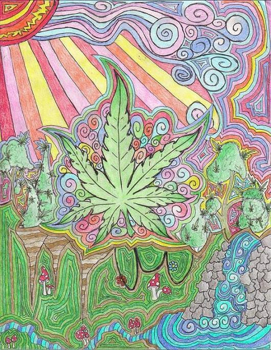 Trippy Art Drawings Weed | www.imgkid.com - The Image Kid ...