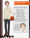 [HQ] Nakajima Kou (Character Sheet)