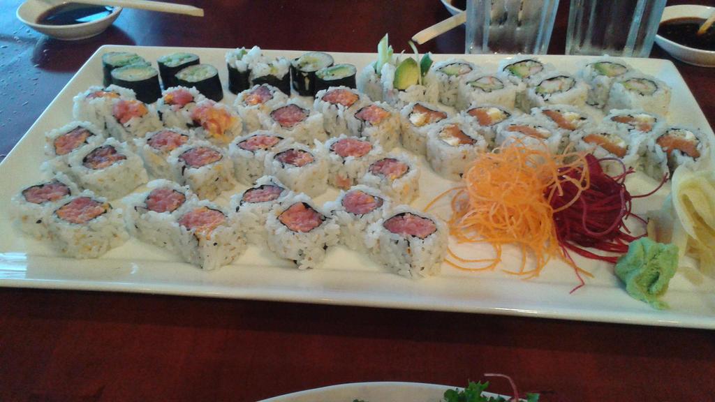 Sushi Appetizers by Shojo-Skip