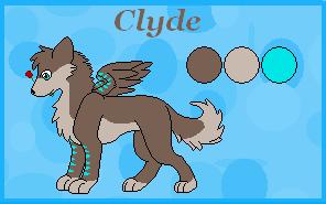 Clyde Ref sheet by Ruusho