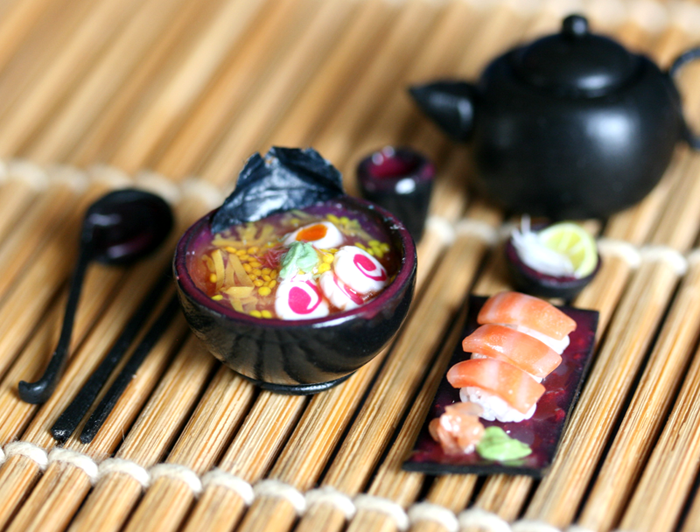 Japanese lunch set by szekei