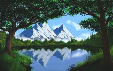 Mountain Lake v7