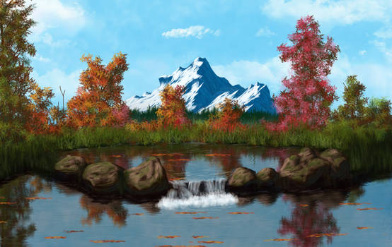 Autumn Pond copy