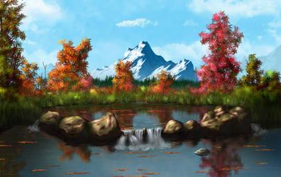 Autumn Pond v2