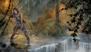 Lara Croft - Tracking the enemy