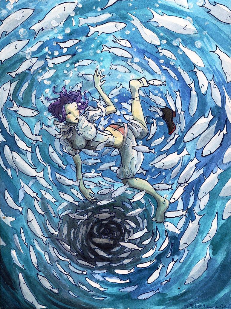 Arpeggi-Weird Fishes by sunshiver on DeviantArt