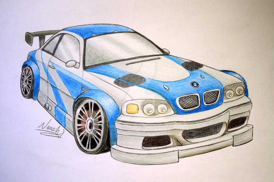 Bmw M3 Gtr By Nina06 On Deviantart