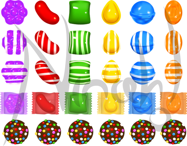 candy crush by nina06 on deviantart Water Bottle Clip Art Water Bottle Clip Art