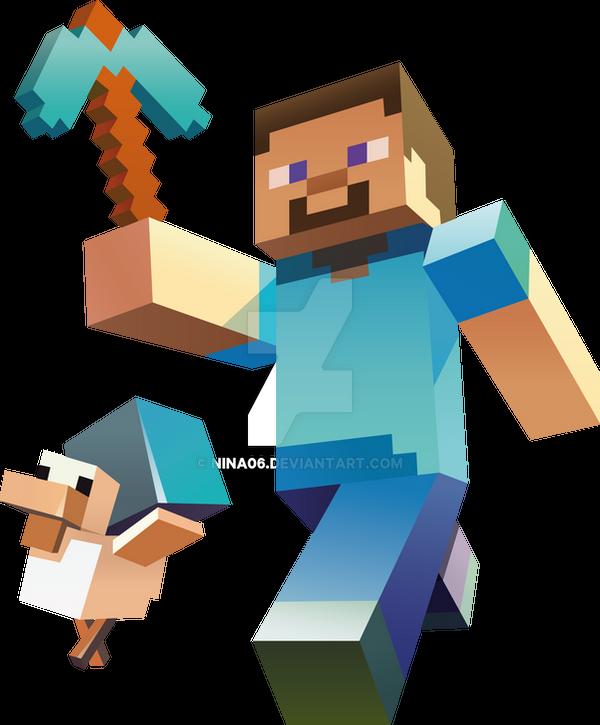 Minecraft vector by nina06 on DeviantArt