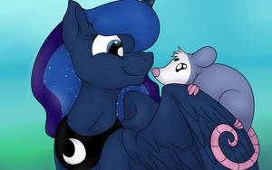 Tiberius and Luna by PavlovzDawg