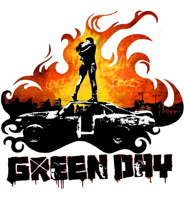 Green Day Logo something by Liliane542