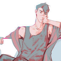 Young Shiro- My version by StuartWinslow