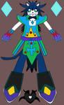 Collab with Shadowknux516:ZYX The Blizzard Phantom