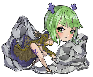 [CM] Brandish for @ChibiGemz by KreutzArt