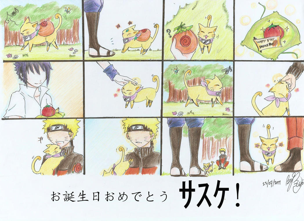 Suprise? - Sasuke's Birthday by Chichan89